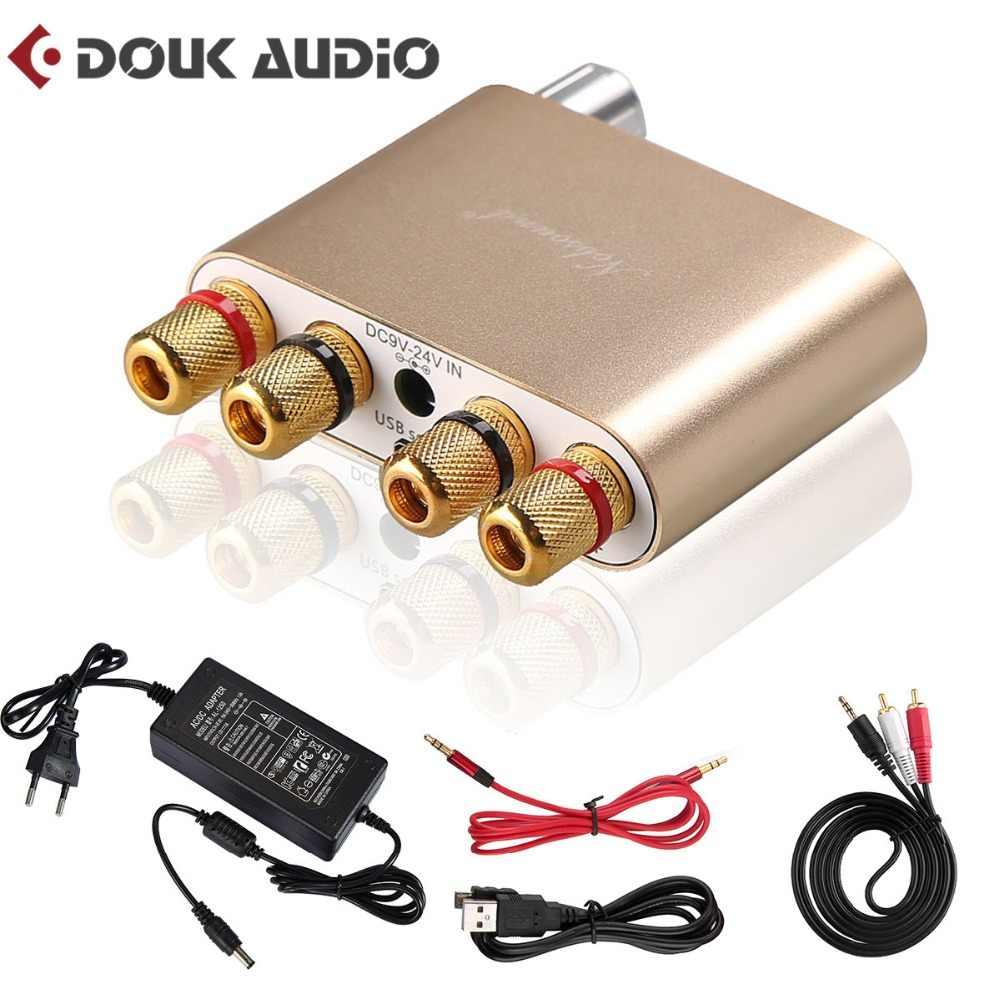 Nobsound TPA3116 Bluetooth 4,0 мини Hi-Fi цифровой усилитель stereohome аудио Мощность Amp 100 Вт ЗОЛОТО Цвет