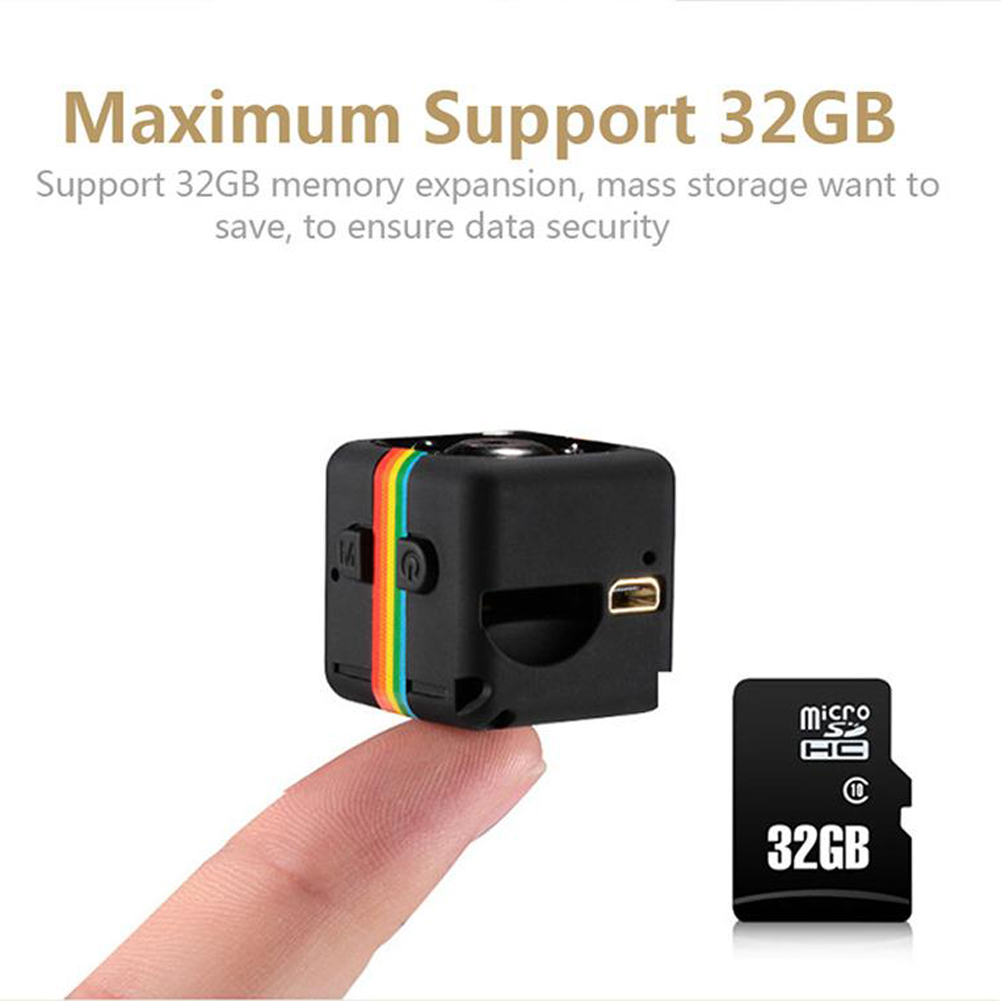 Original Mini Car DVR Camera Full HD 1080P 140 Degree Night Vision G-Sensor Motion Detection Cycle Recording DVRS High Quality 16