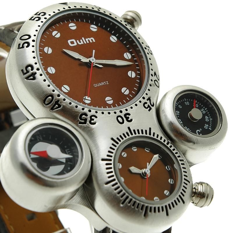 2016 Элитный бренд Мужские часы двойной Movent Военная Униформа аналоговые наручные  часы украшения компасы термометр многофункц... купить на AliExpress fdcf7d003a9