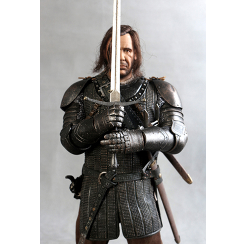 13Inch ThreeZero 3A TZ-GOT-005 1/6 Game Of Thrones Action Figure Toys Sandor Clegane Model Song Of Ice And Fire Chirstmas Gift vintage hardcover game of thrones a5 notebook for gift movie a song of ice and fire office school supplies student diary