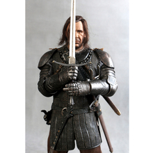 13Inch ThreeZero 3A TZ-GOT-005 1/6 Game Of Thrones Action Figure Toys Sandor Clegane Model Song Of Ice And Fire Chirstmas Gift