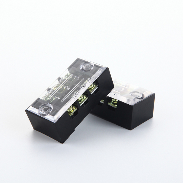 YM032 Terminal plastic wire connector 15A 600V 3P 3 Pin terminales ...