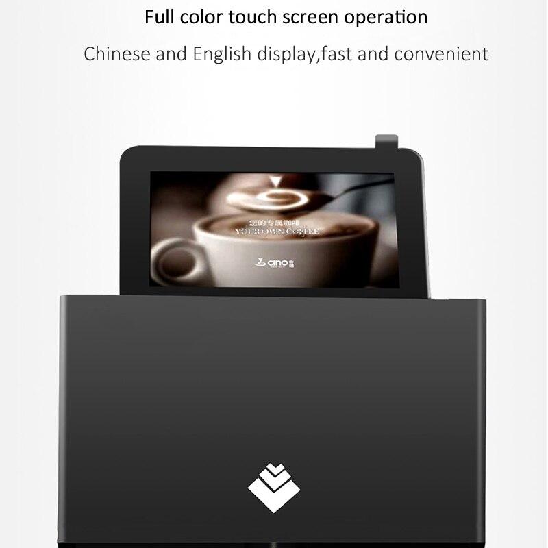 Máquina automática de dibujo de café con leche, máquina táctil inteligente, tapa de leche, espuma, leche, té, patrón de flores, equipo de impresora 220V - 6