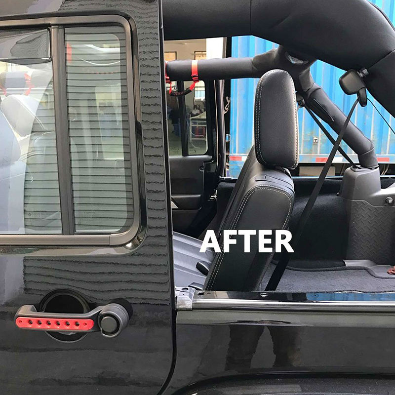 ... Black Aluminum Rear Seat Recline Kit With Bolts And Washers For Jeep  Wrangler JK JKU Unlimited