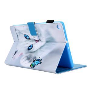 Image 3 - Coque souple antichoc pour tablette, support de chat peint, coque + Film + stylo, pour Samsung Galaxy Tab A 10.1 2019 SM T510 T510 T515 SM T515