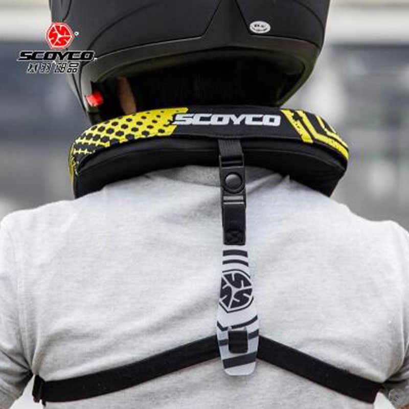 SCOYCO N02B Auto course Moto cou orthèse soutien Motocross Moto équitation cou Protection vêtements de sport Protection équipement de sécurité