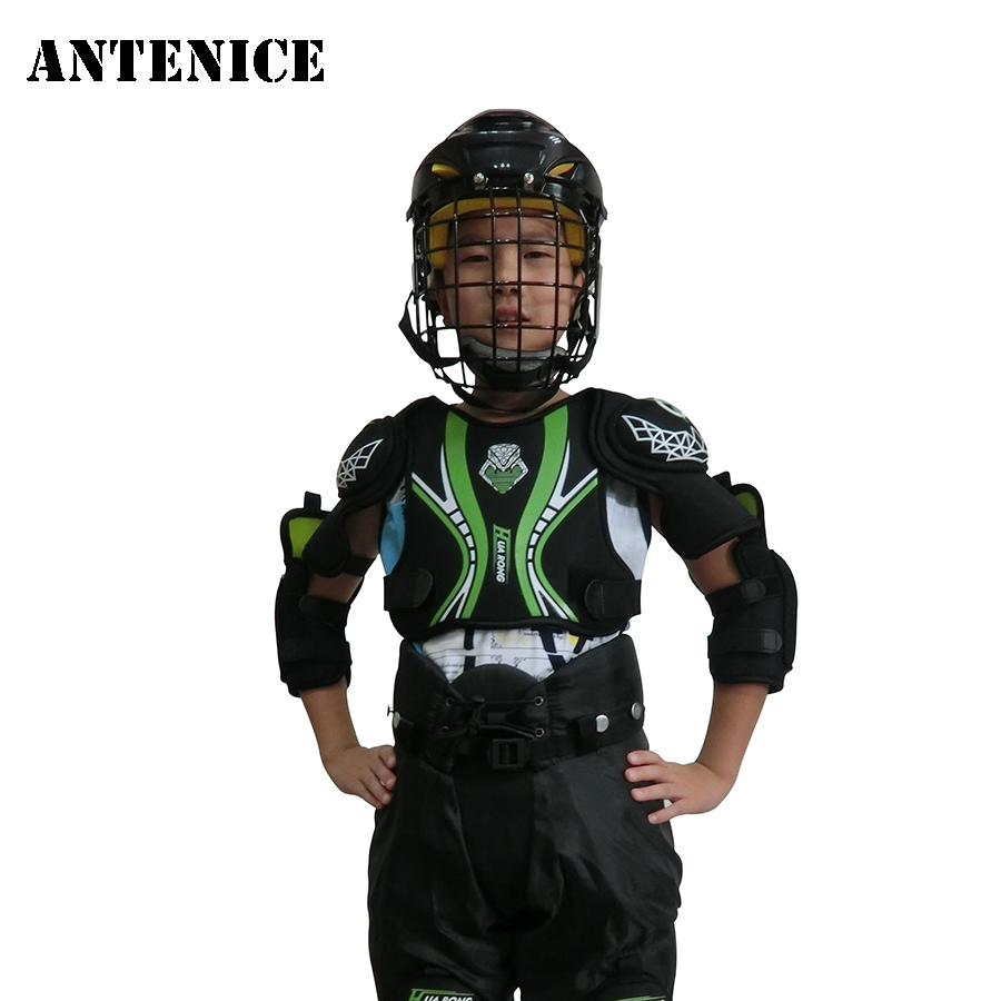 9a2d7660aab Antenice 2018 Ice hockey chest protector Snowboard Skating Protection  Children Sports Safety Size S M L HR-A03