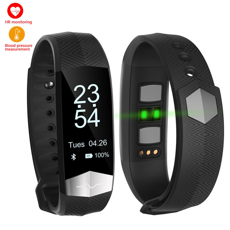 Smart Bracelet Sports Watches Fitness Tracker Heart Rate Blood Pressure Monitor Sleep Pedometer CD01 Band for IOS Android Phones smart watches c5 smart bracelet dynamic heart rate monitor bluetooth wristband smart sports watch sleep tracker for ios android