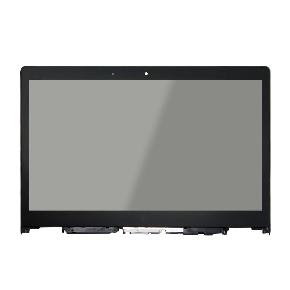 For Lenovo Yoga 3 14 5DM0G74715 5D10G74846 8S5DM0G74717 5D10H35588 LCD Touch Screen Digitizer Bezel Assembly with bezel laptop touch lcd screen digitizer assembly display for lenovo yoga 700 14