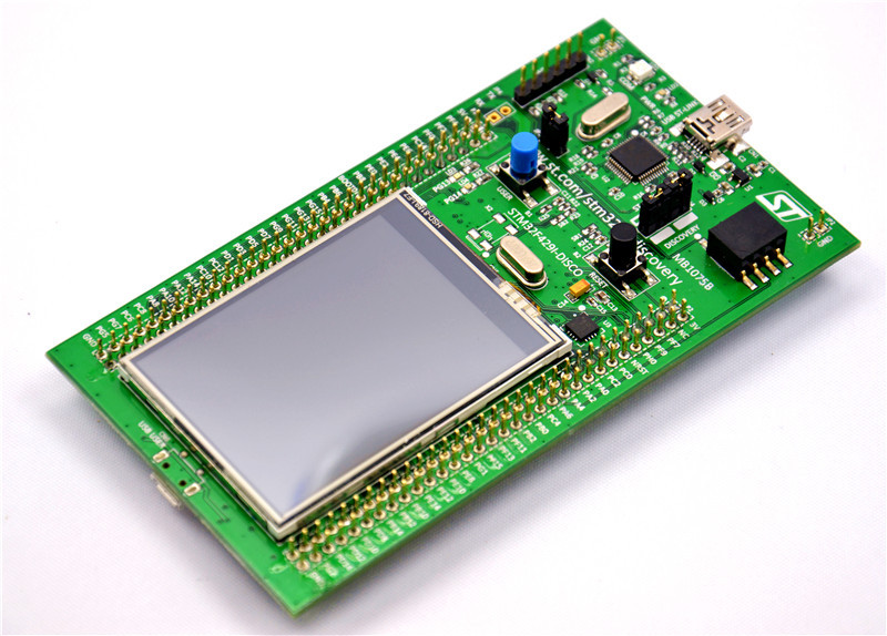 US $45 89 |Original STM32F429I DISCO Embeded ST LINK/V2 STM32 Touch Screen  Evaluation Development Board STM32F4 Discovery Kit STM32F429-in Demo Board