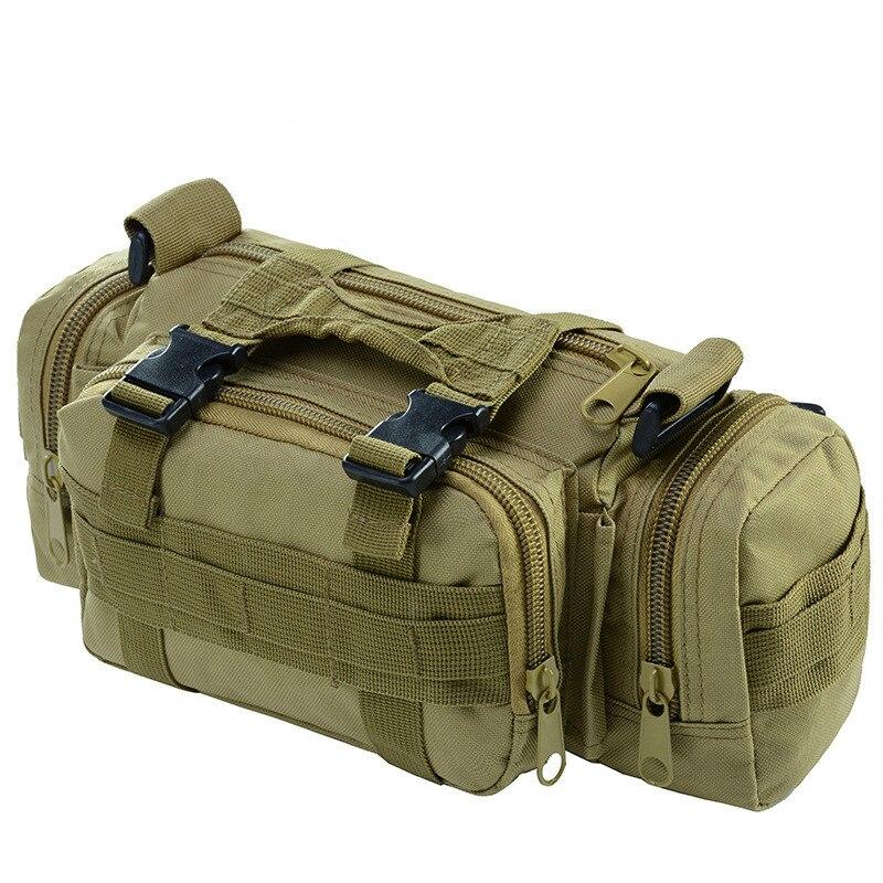 Climbing Bags Camping & Hiking Outdoor Tactical Saddle Bag Men Messenger Cross Body Bag Ridding Fishing 600d Military Tactical Backpack Camera Shoulder Bag