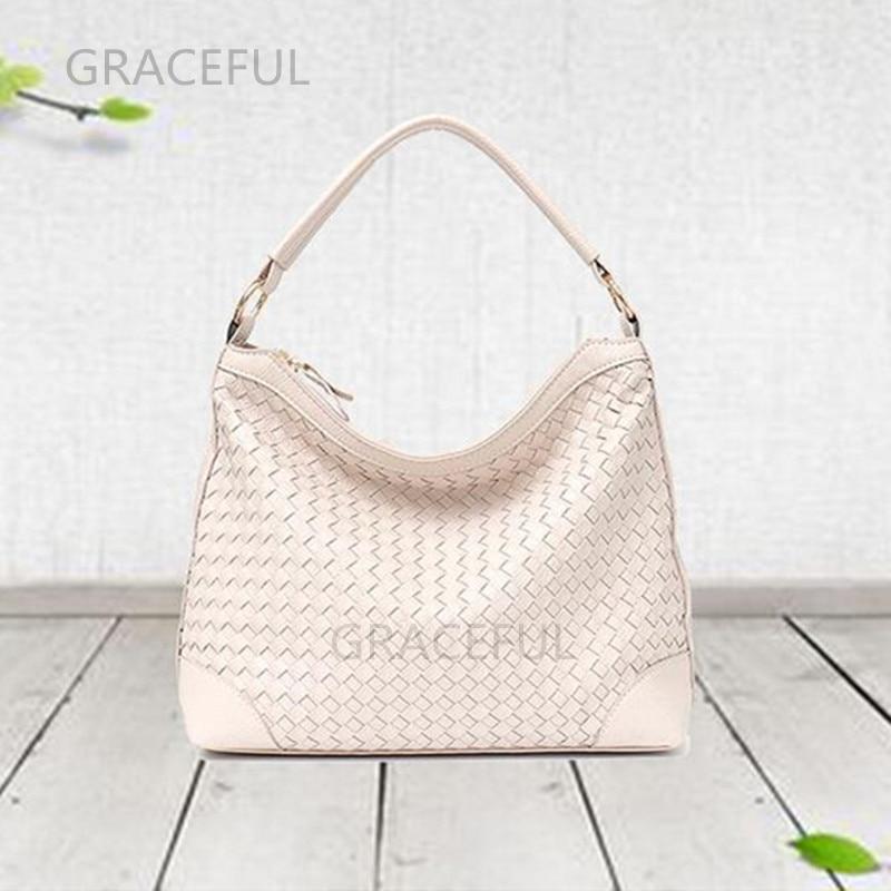 Вместительная изящная сумка-хобо Женская любимая сумка холщовая изящная сумка POCHETTE metis на одно плечо Большая вместительная сумка