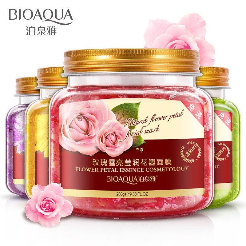 Bioaqua Maske Anlage Blumen Helle Blütenblätter Ton Schlafen Feucht Akne Schönheit Gesicht Maske Gesichts Maske Ageless Gesicht Pflege Ance Behandlungen