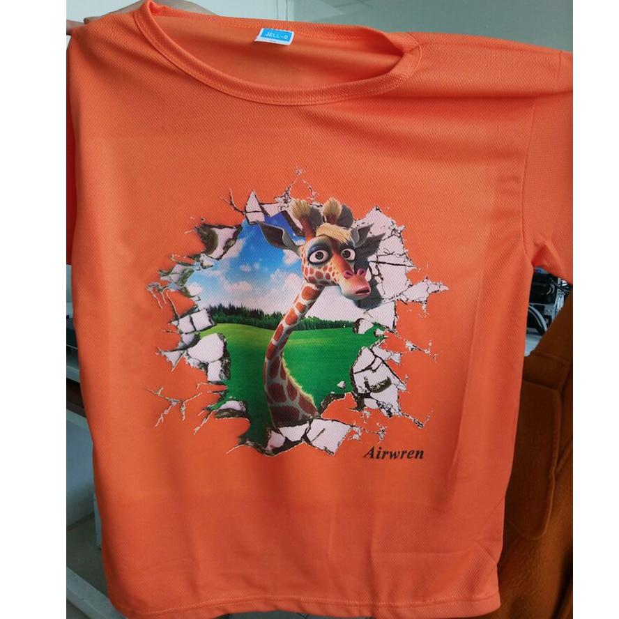Avancerad ny design t-shirttryck billigt t-shirt tryck a3 6 färg - Kontorselektronik - Foto 6