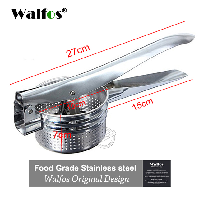 Stainless Steel Potato Masher  I Fruit Vegetable Crusher