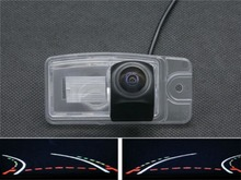 1080P Fisheye Lens Trajectory Tracks Parking Rear view Camera for Nissan X-Trail X Trail 2014 2015 Car Waterproof Backup Camera