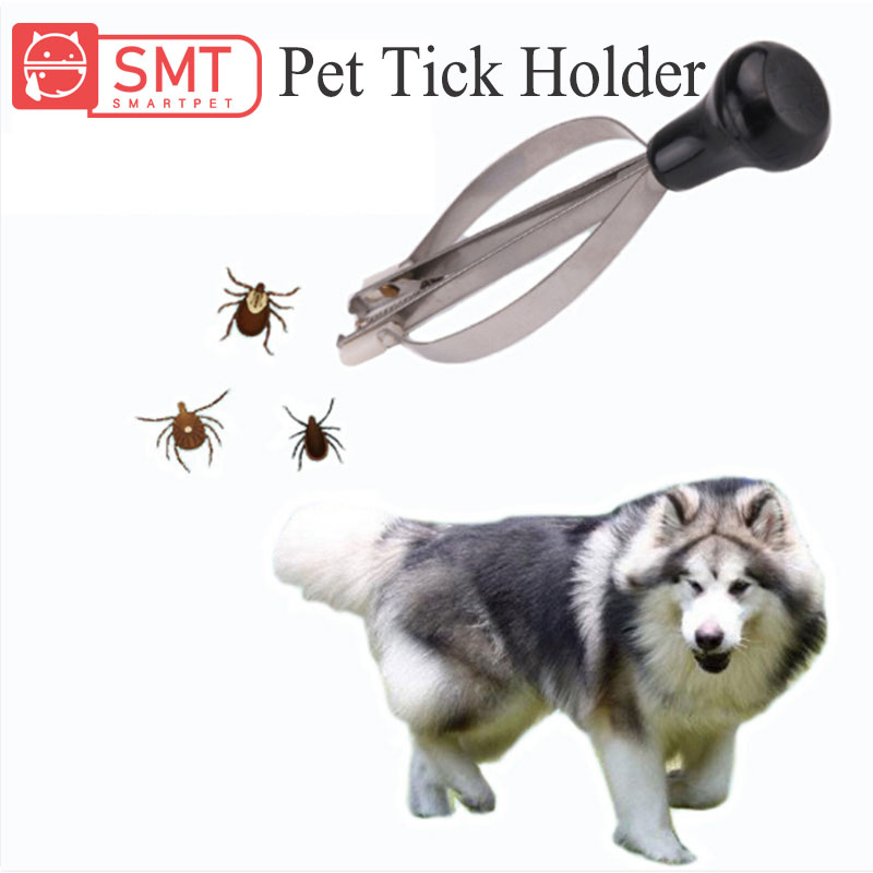 SMARTPET Pet Dog Scorpion Mites Flea Tick Tweezers Flea Clip Hard Picker Picking Mites Tool Pet Flea Remover Tool