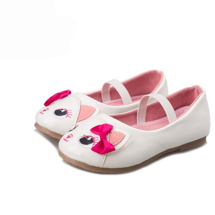 d1e400ce217 2017 New Cut Cat Shoes For Girls Fashion Children Girl Cartoon Shoes ...