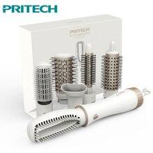 PRITECH многофункциональный фен для волос профессиональные кудрявые волосы инструменты для укладки фен бигуди щетка мощный Фен