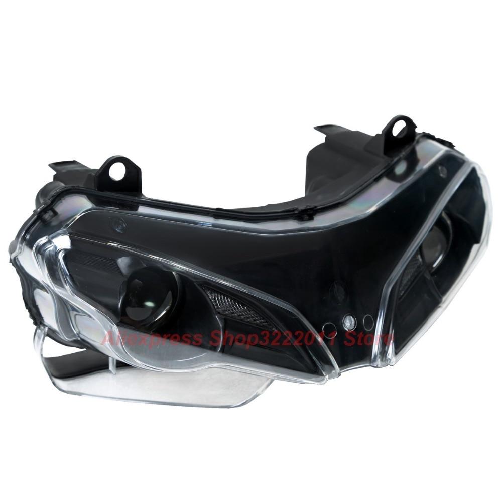 Прозрачные линзы для мотоциклов пластик передний свет лампы Чехол для Дукати 848 Эво 1098 1098S 1198 1198S 1198R корпус фары комплект