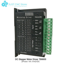 TB6600 Stepper Motor Driver Support nema 42 57 86 CNC controller 32 Segments Upgraded Version 4.0A 9-42VDC Milling Kits single pulse 4a tb6600 stepper motor driver controller 9 42v micro step single axes hybrid stepper motor for cnc