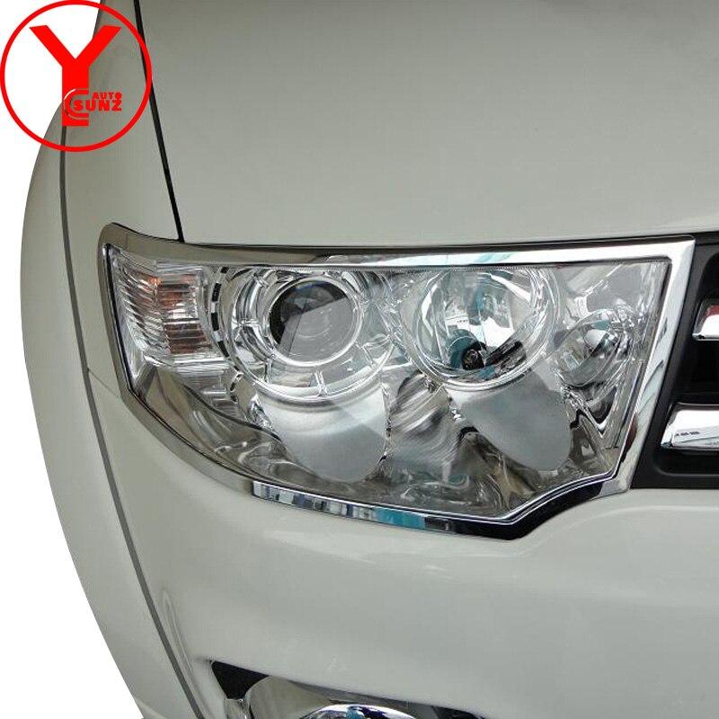 Head Lights Cover For Mitsubishi Montero Sport Pajero