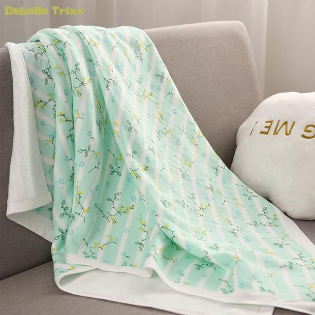 Daballa Trixx Baby Bath Towel Two Layer Cotton Gauze Figure Terry
