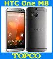 "HTC Uno M8 32 GB Abierto Original GSM 3G y 4G Android Quad-core RAM 2 GB Teléfono móvil 5.0 ""WIFI GPS Dual $ NUMBER MP 3 cámaras dropshipping"