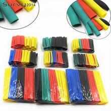 328 шт термоусадочные трубки для автомобильных кабелей 8 размеров