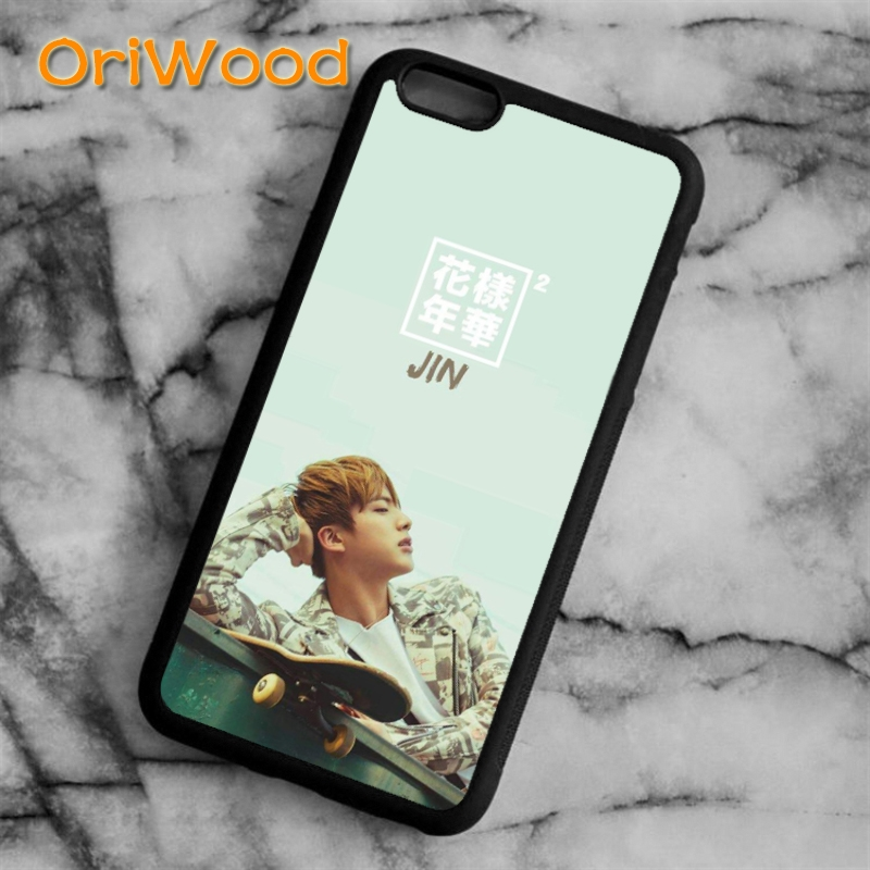 Oriwood Bangtan Boys Bts Kpop Jungkook Case Cover For Iphone 5s Se 6 6s 7 8 X Xr Xs Max Samsung Galaxy S5 S6 S7 Edge S8 S9 Plus Fitted Cases