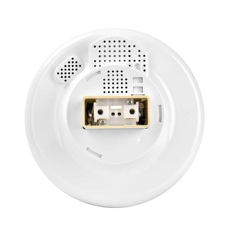 Wifi Fish-eye Panoramic Camera WIFI Bulb Light CCTV Smart Home Radar Induction Light IR Night Vision 2-way Intercom Remote Surve
