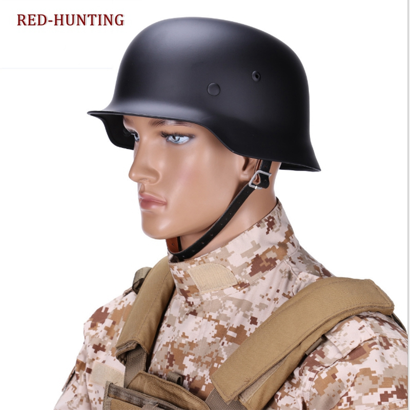 High Quality 3 Color German M35 Helmet Luftwaffe Steel Helmet Tactical Airsoft Helmet Military Special Force