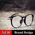 2016 Nuevas Gafas de Moda Marcos Para Hombres de Las Mujeres Marca de Diseño Retro Equipo Miopía Femenina Señora de Gafas Marcos Eyewear Óptico