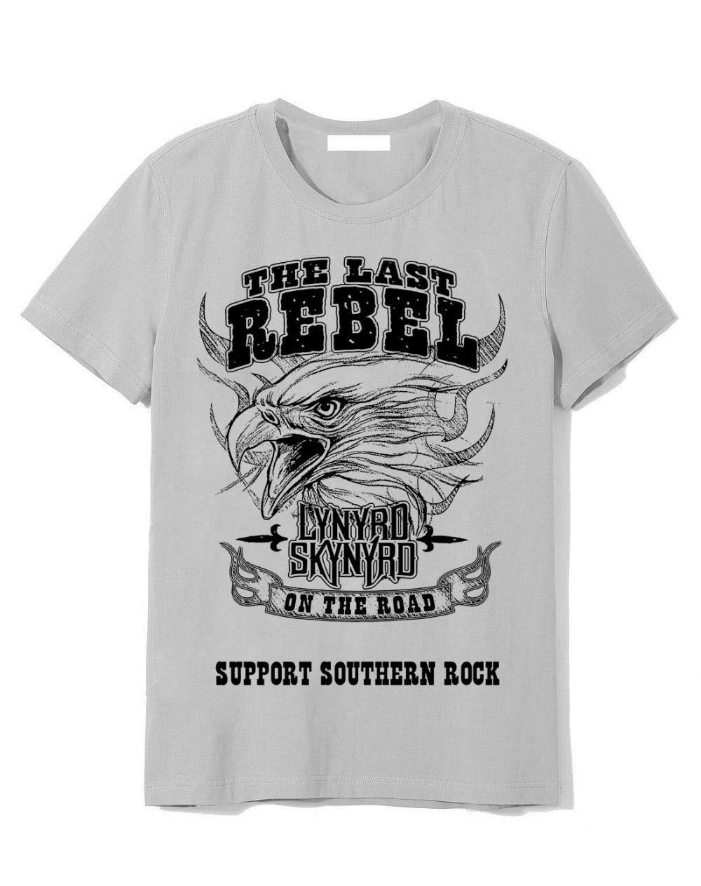 Official Lynyrd Skynyrd T Shirt Sweet Home Alabama Grey Classic Rock Metal Band