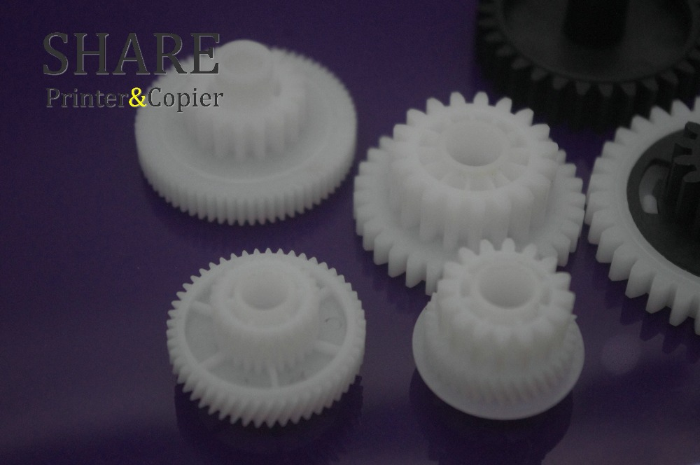 SHARE New Fuser Drive Assembly gear KIT 7PS SET RM1 2963 RU5 0655 RM1 2538 RK2