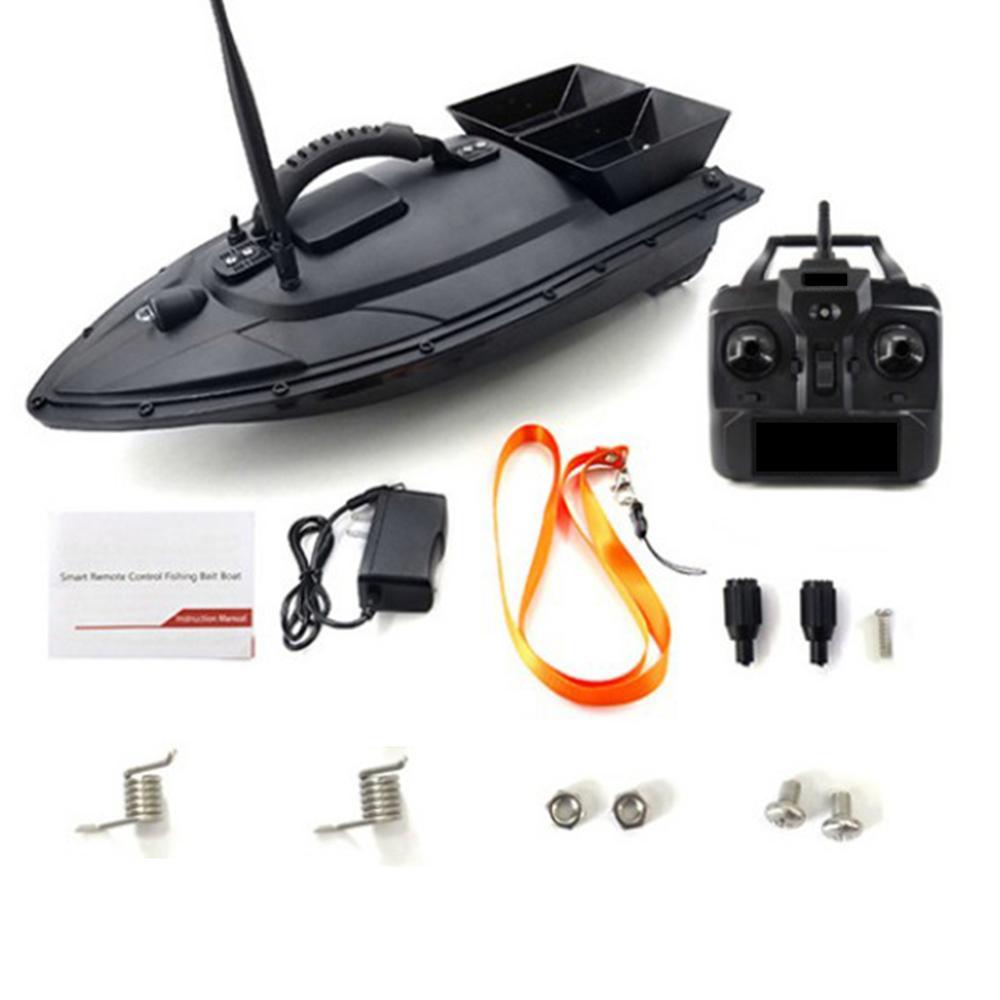 Hot Sale EU/US/UK Fishing Tool Smart RC Bait Boat Toys Dual Motor Fish Finder Ship Boat Remote Control 500m Fishing Boat