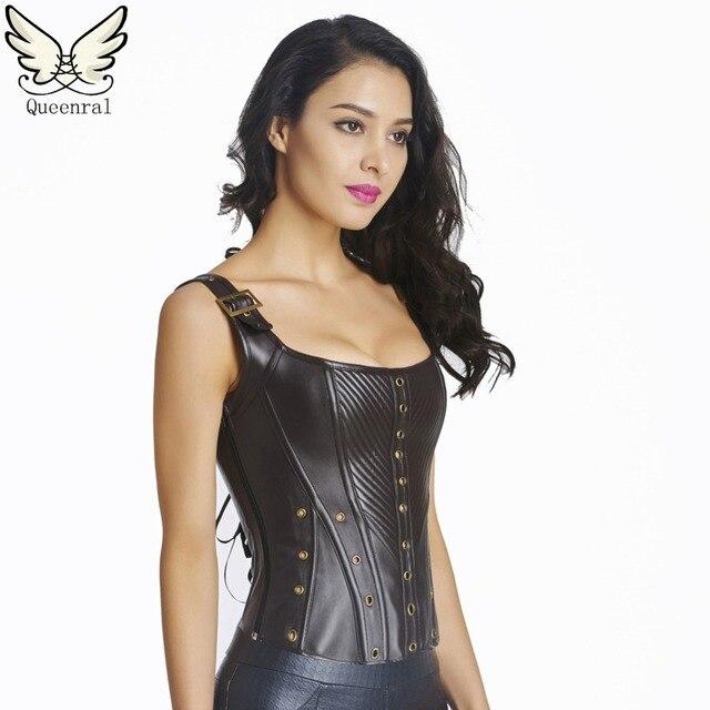 Couro cintura corsets trainer trainer trainer cintura espartilhos góticos e bustiers corselet sexy cintura cincher cintura steampunk cinta modeladora corselete feminino espartilhos e corpetes corpete corpetes e esparti