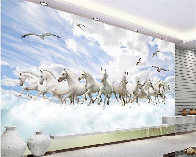 Beibehang Horizontal Beaute 3d Papier Peint Prime Paysage Tv Chambre