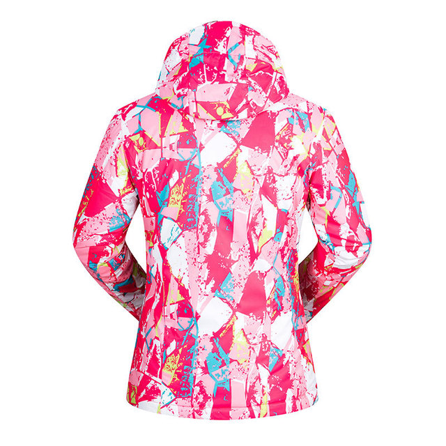 -35 Degree Women Ski Jacket Snowboard Clothing Outdoor Sports Treking Windproof Waterproof Wear Winter Clothing Female Ski Coat 4