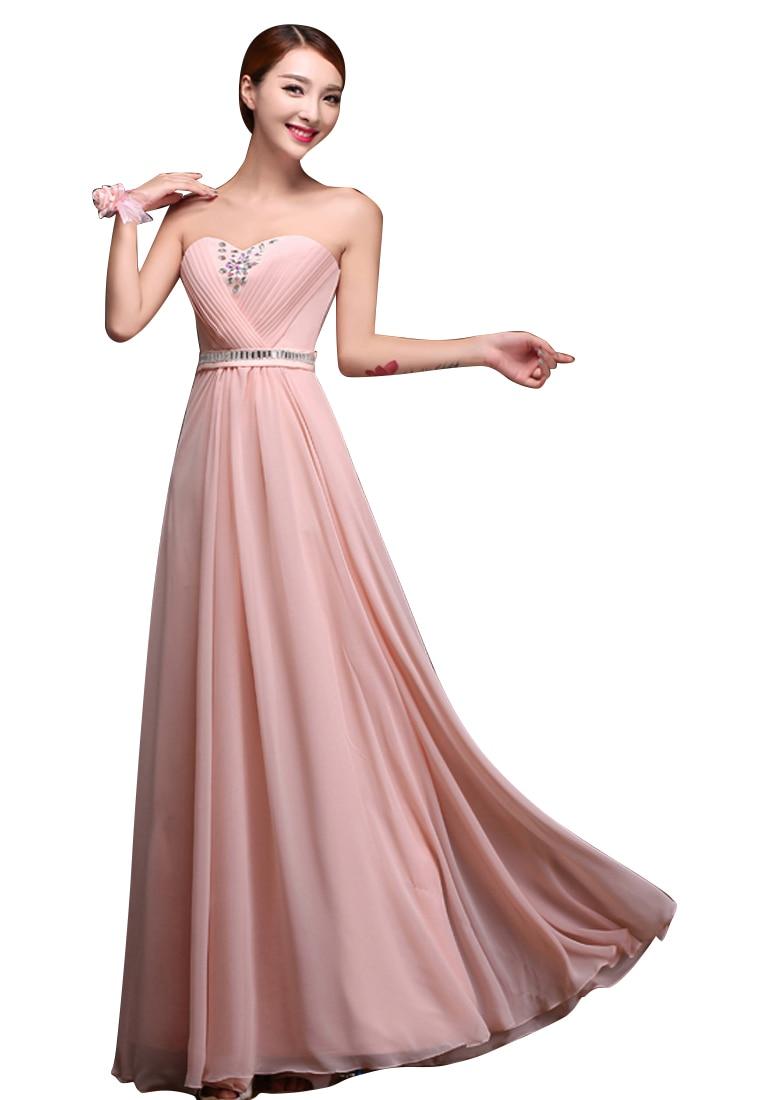 Großartig Erröten Rosa Brautjungfer Kleid Galerie - Hochzeit Kleid ...