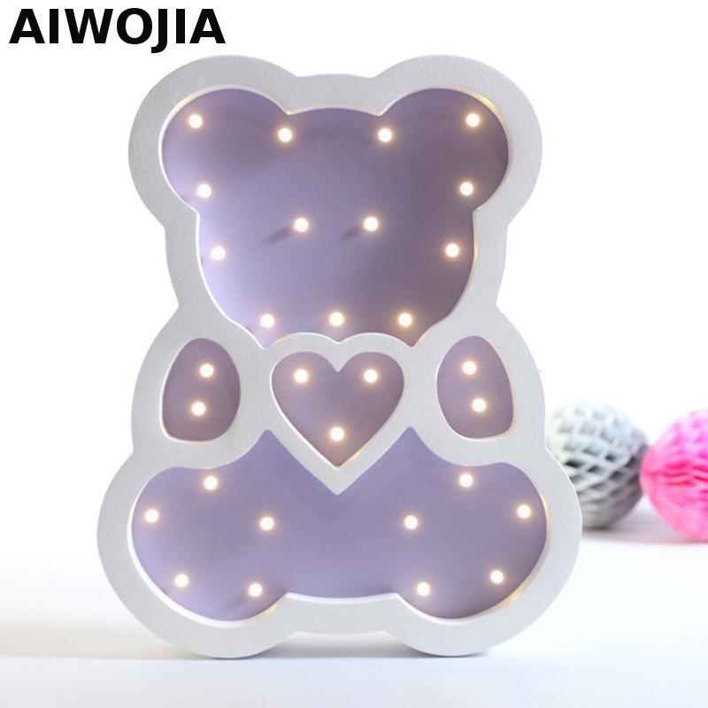 Batterie Betrieben Led Lampe 3d Mini Leuchten Tischlampen Fr Wohnzimmer Kinderzimmer Dekoration Weihnachtsgeschenk