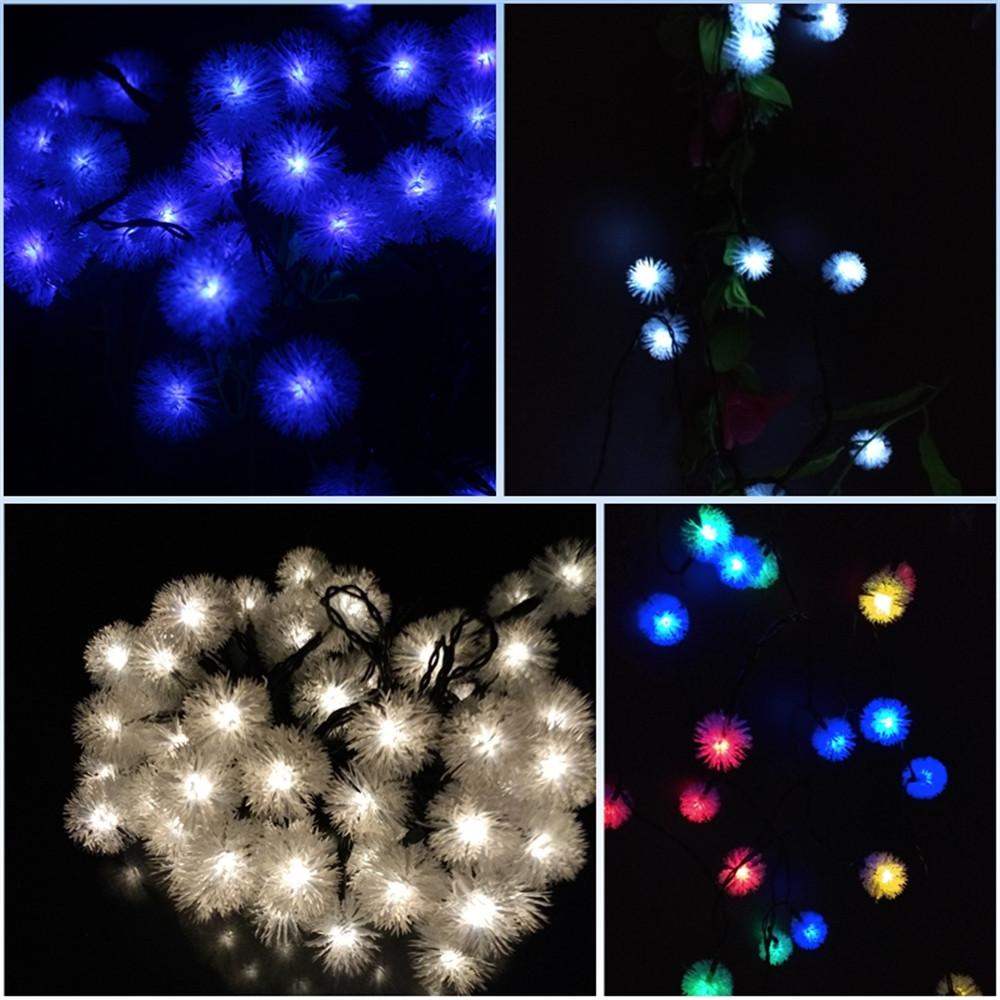 outdoor garden decoration lights solar lamps lighting Strings (30)