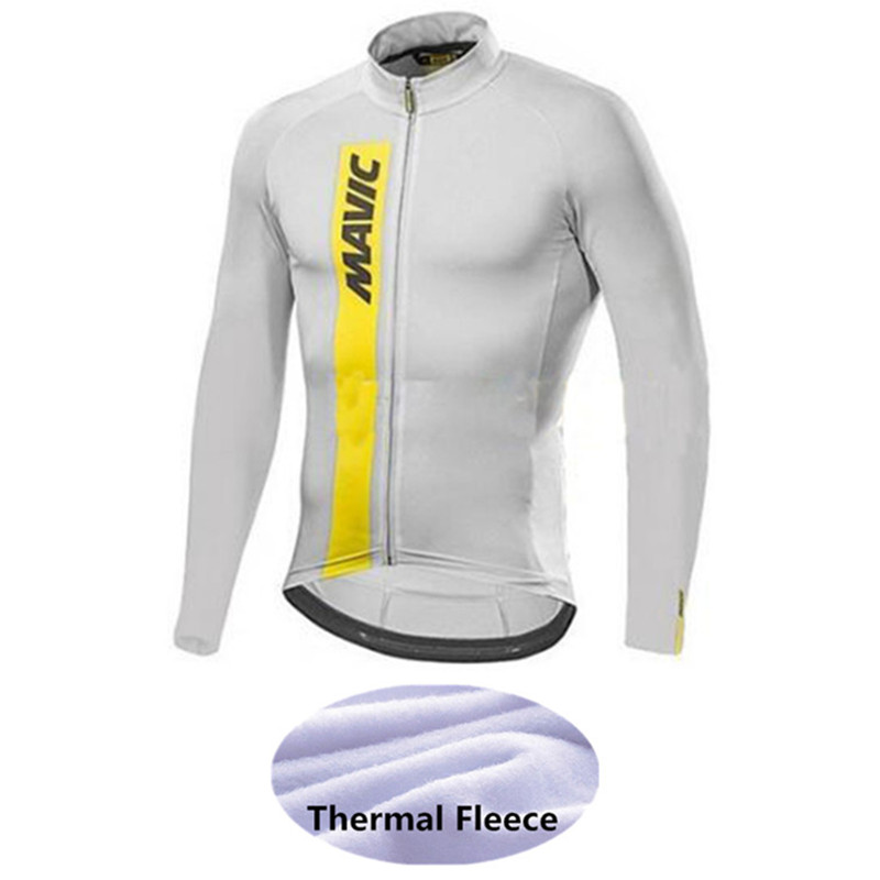Cycling-Clothing Bicycle Racing-Bike Rock Long-Sleeve Mavic Ropa-Ciclismo Winter Fleece