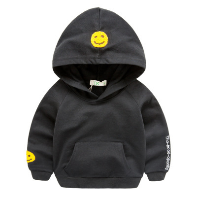 HOT! 2017 spring autumn kids cotton hoodies Boys girl fashion Letter sweatshirts Baby Outerwear Children clothes clothing coat