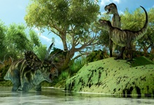 Laeacco Ancient Forest Jurassic Dinosaurs Baby Party Photography Backgrounds Customized Backdrops For Photo Studio