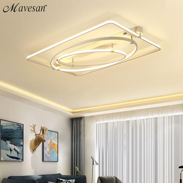 Nuove Plafoniere a LED Per Soggiorno luminaria abajur Luci Dell ...