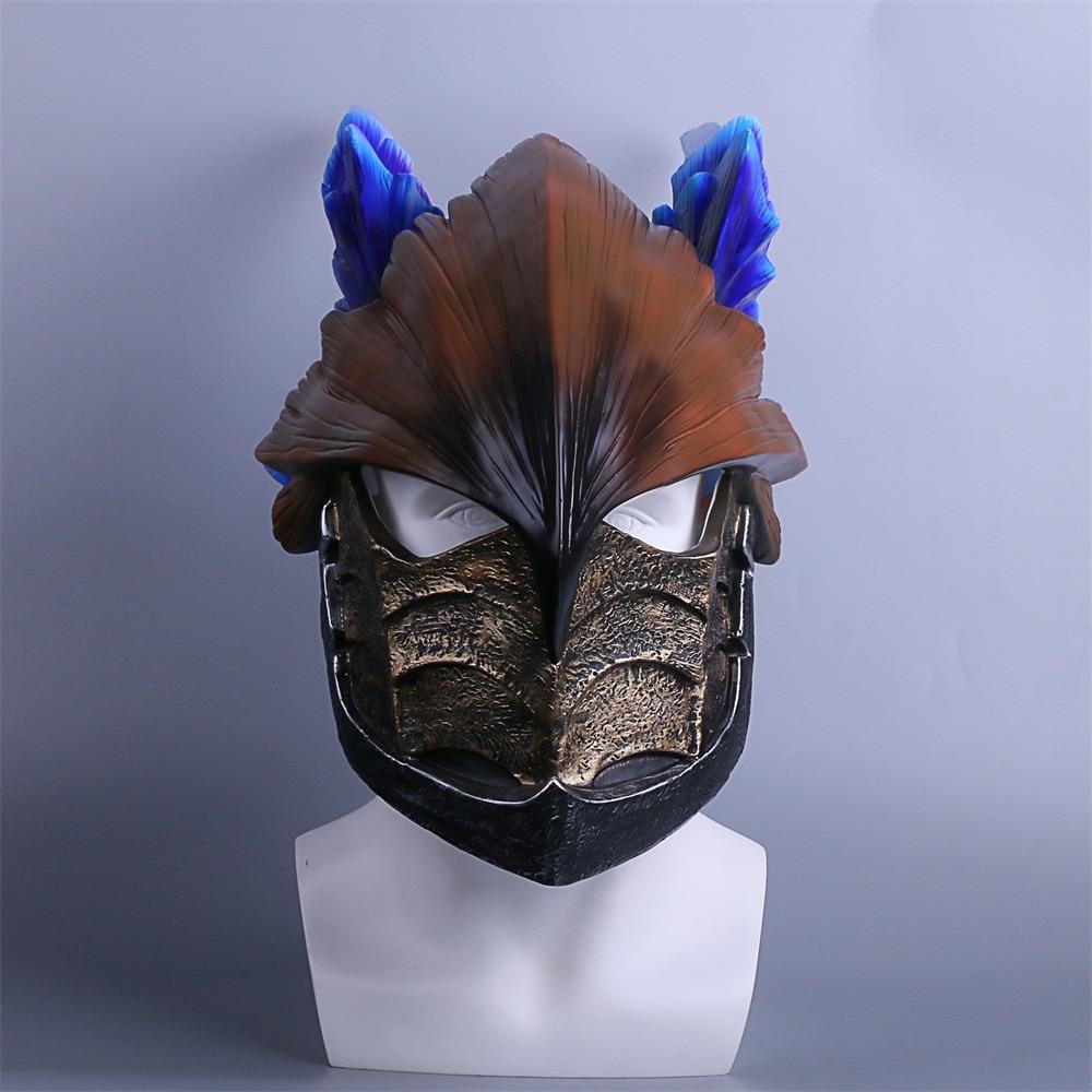 MONSTER HUNTERWORLD Helmet Cosplay legiana helm  Helmets Halloween Masks Props (2)
