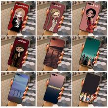MaiYaCa Mamamoo weiche tpu Gummi Handy Fall Für Apple iphone X XSMax XS XR 5 5s SE Und 6s 6splus 7 7plus 8 8plus Coque(China)