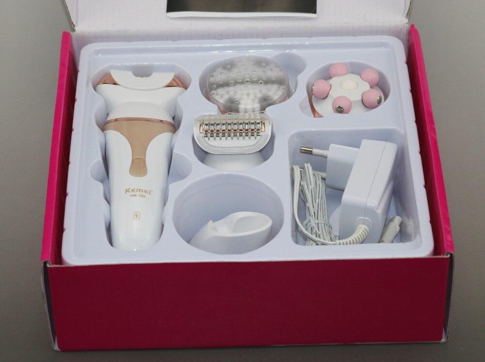 5в1 набор, влажная сухая бритва, женский эпилятор, женский Электрический триммер для депиляции, Женский массаж, щетка для чистки лица, массаж лица