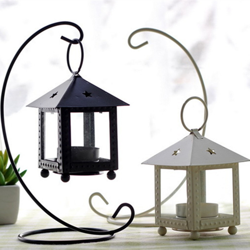 Rustic Wooden Tea Light Holder Free Shipping: Free Shipping!Iron Tea Light Holder House Shape Metal